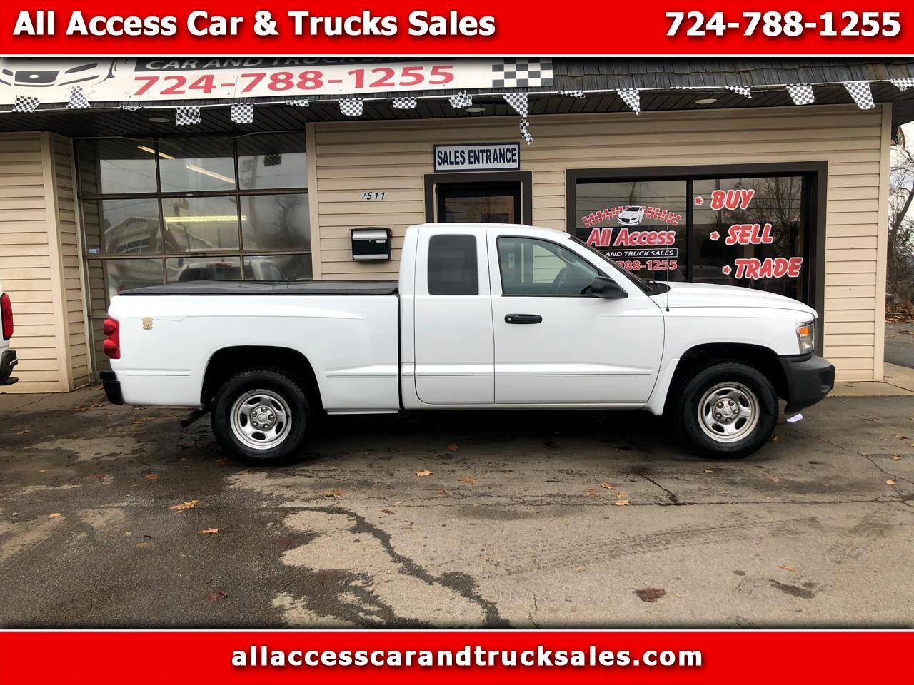 Dodge Dakota 2WD Ext Cab ST 2008