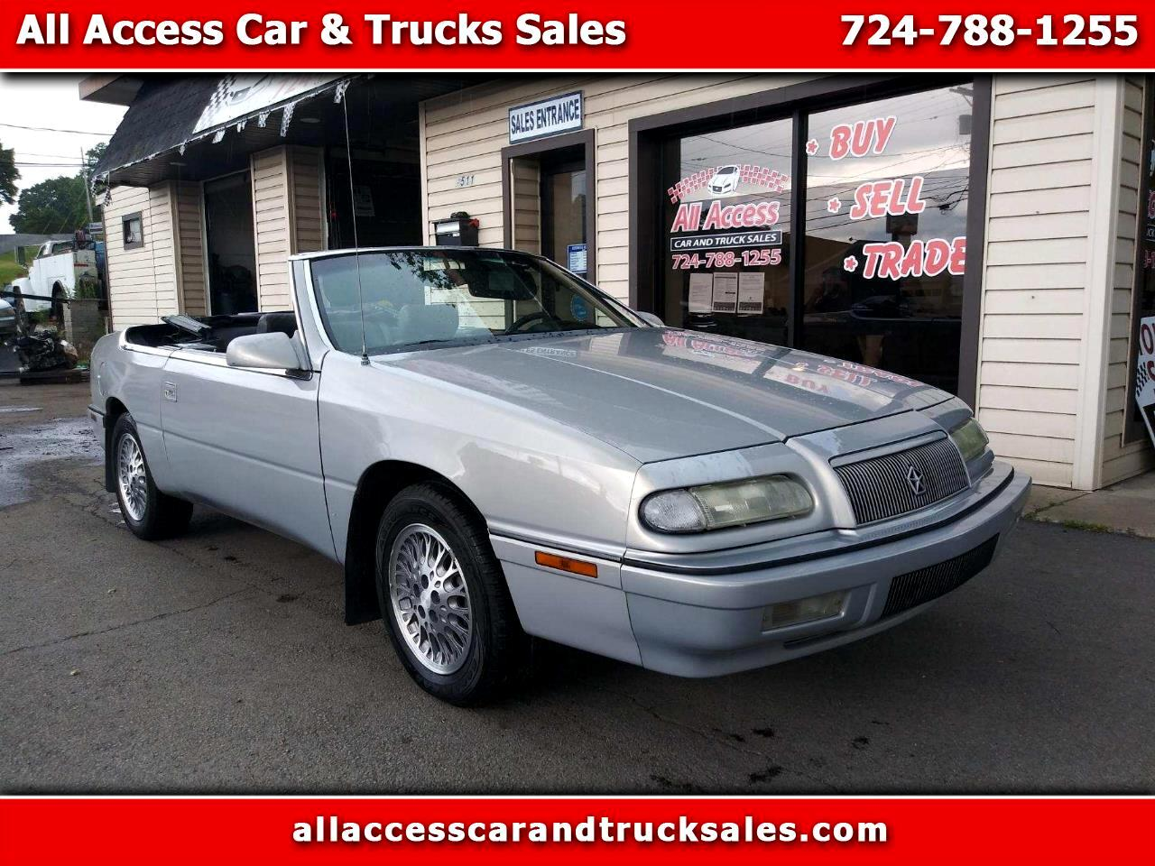 Chrysler LeBaron 2dr Convertible GTC 1994