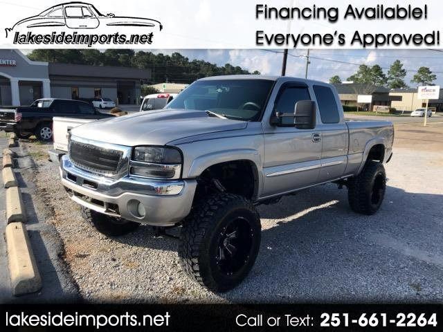 2007 GMC Sierra Classic 1500 1500 EXT CAB LIFTED