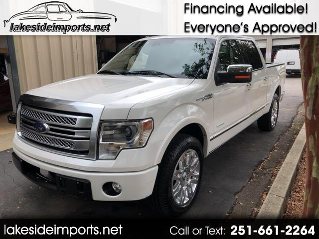 2013 Ford F-150 PLATINUM ECOBOOST 2WD