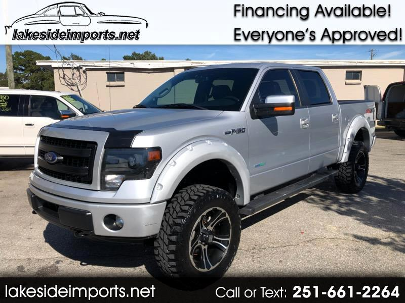 2013 Ford F-150 FX4 SUPERCREW LIFTED