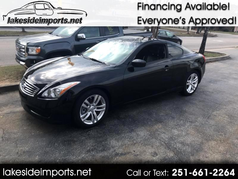 2010 Infiniti G Coupe BASE