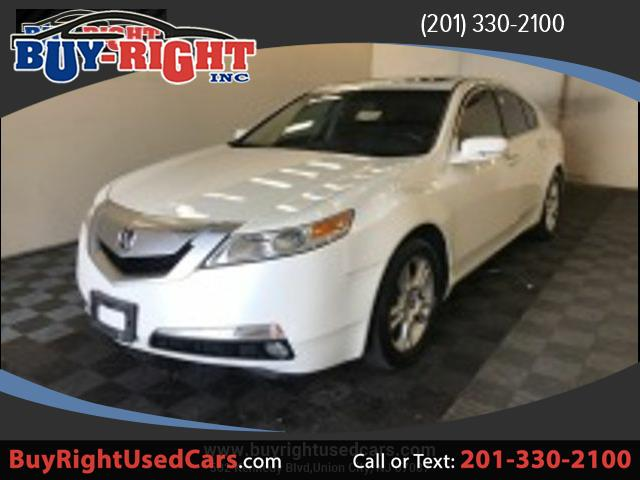 2011 Acura TL 5-Speed AT with Tech Package and 18-In. WP