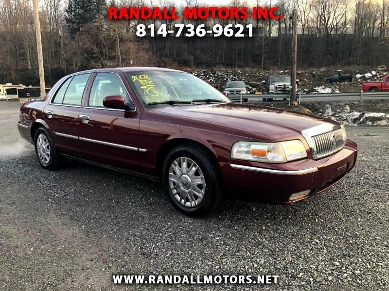 2008 Mercury Grand Marquis 4dr Sdn GS