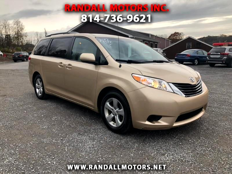 2012 Toyota Sienna 5dr 8-Pass Van LE FWD (Natl)