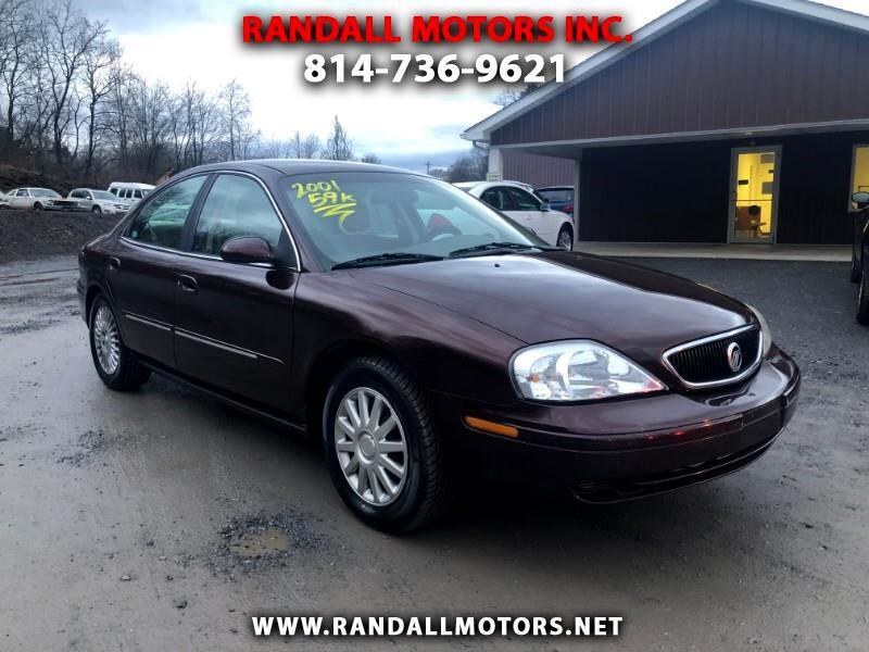 2001 Mercury Sable 4dr Sdn GS