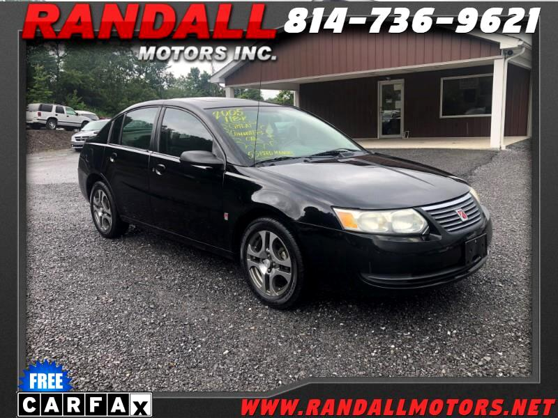 2005 Saturn ION ION 2 4dr Sdn Manual
