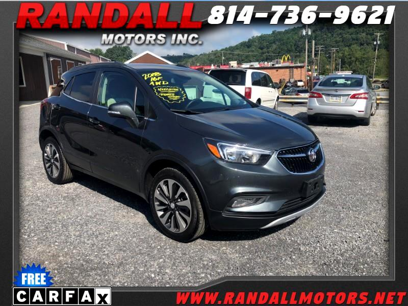 2018 Buick Encore AWD 4dr Preferred II
