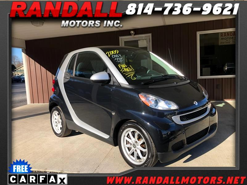 smart Fortwo 2dr Cpe Passion 2009