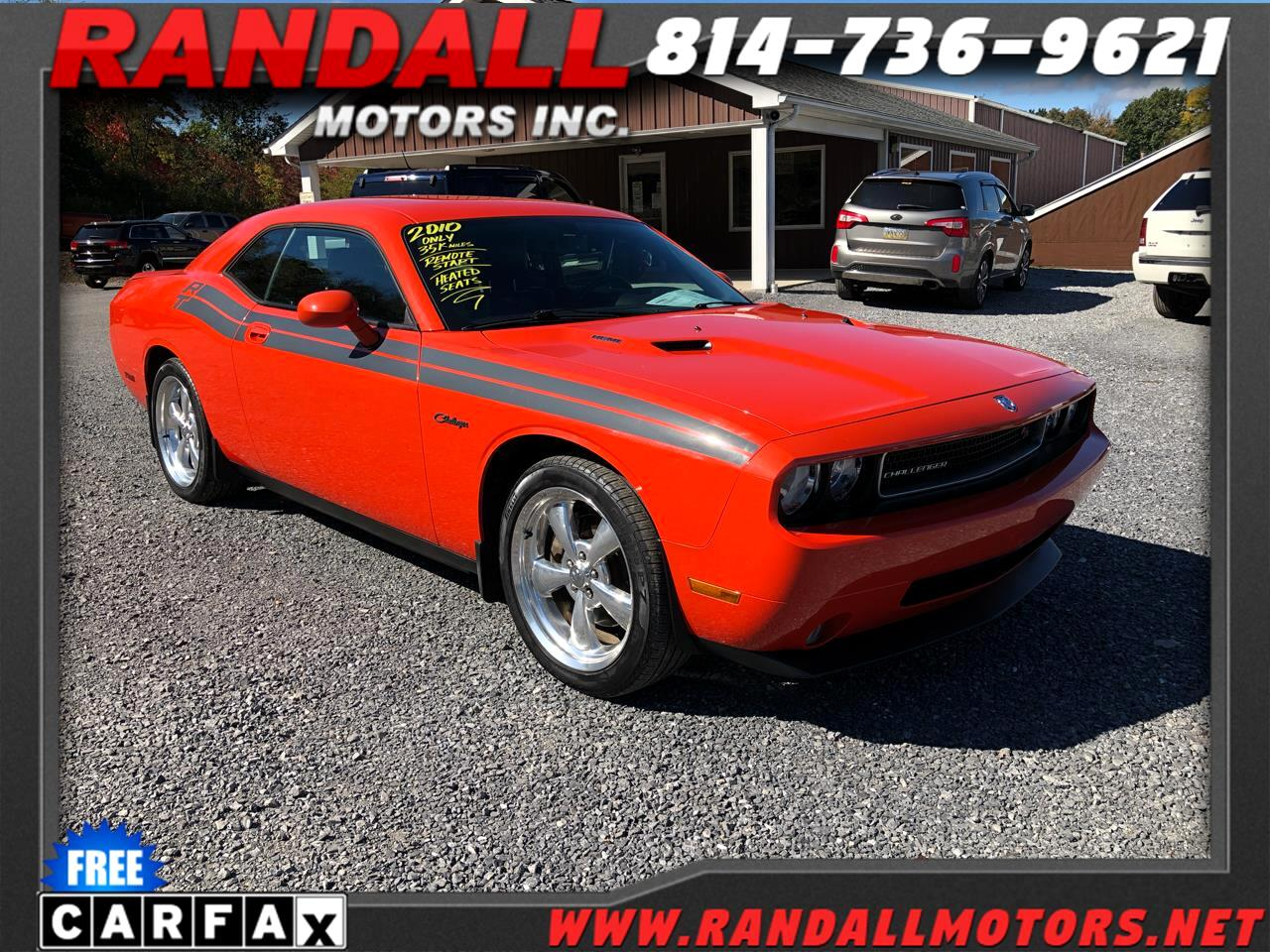 Dodge Challenger 2dr Cpe R/T Classic 2010