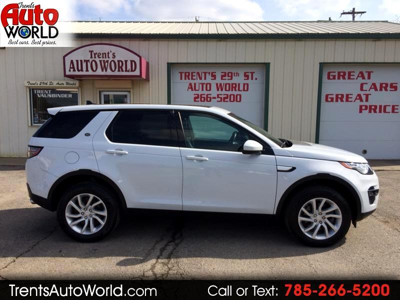 2016 Land Rover Discovery Sport HSE AWD