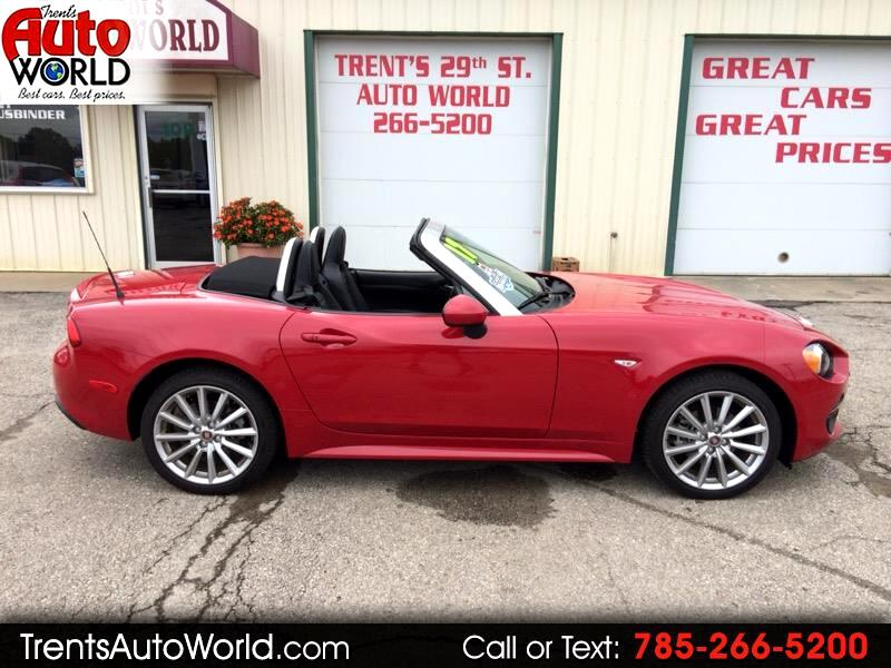 2017 Fiat Spider 124 Lusso Convertible