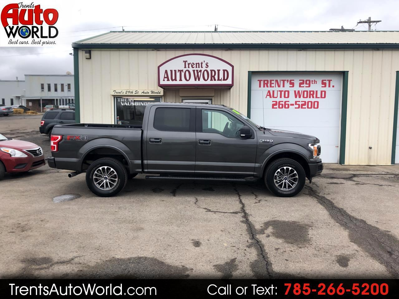 Ford F-150 FX4 SuperCrew 5.5-ft. Bed 4WD 2018