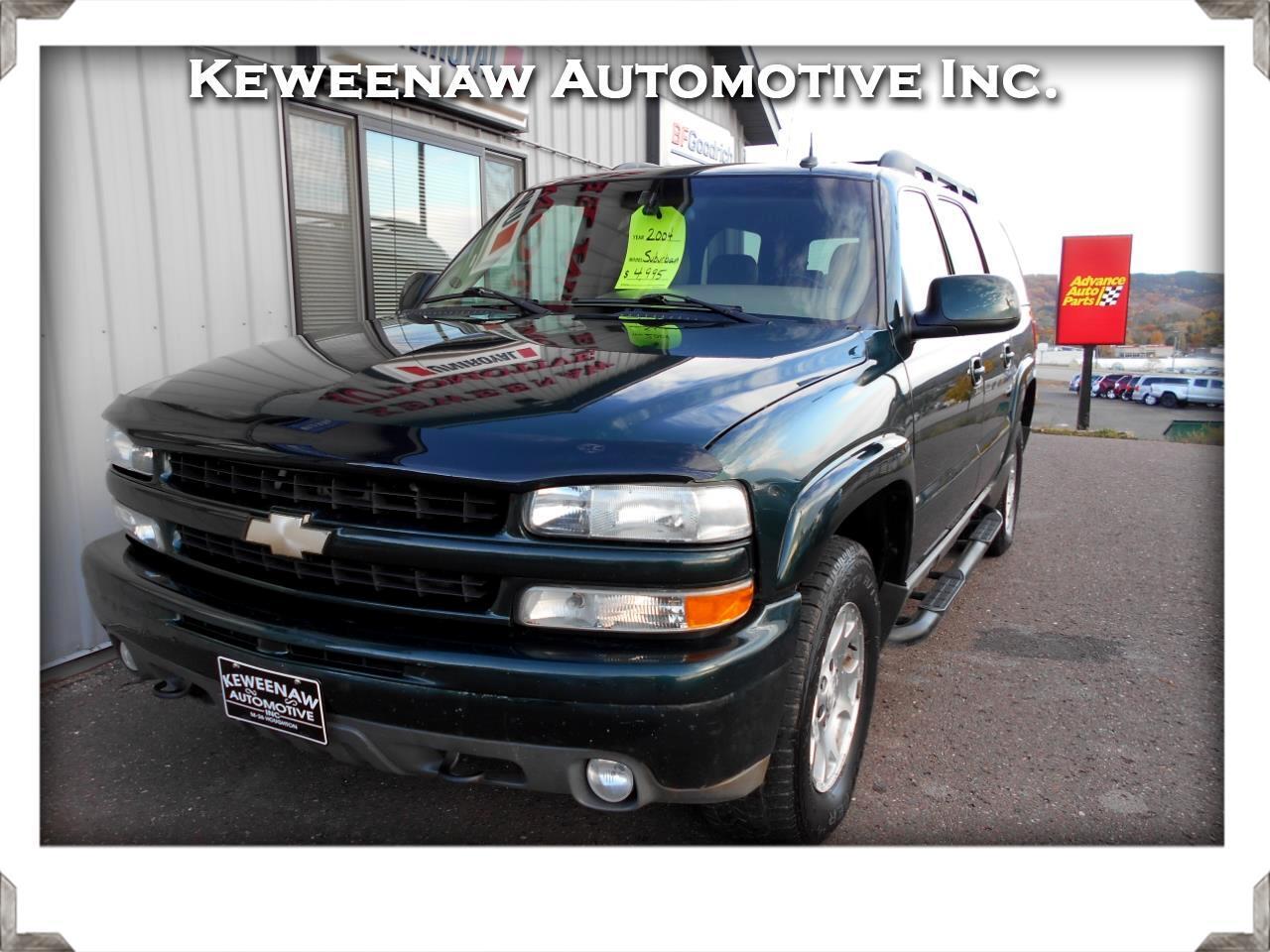 2004 Chevrolet Suburban 4dr 1500 4WD Z71