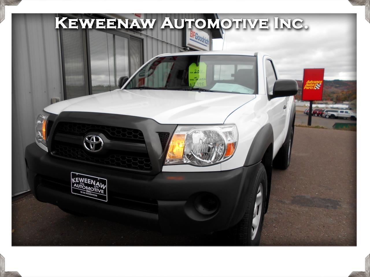 2011 Toyota Tacoma 4WD Reg I4 MT (Natl)