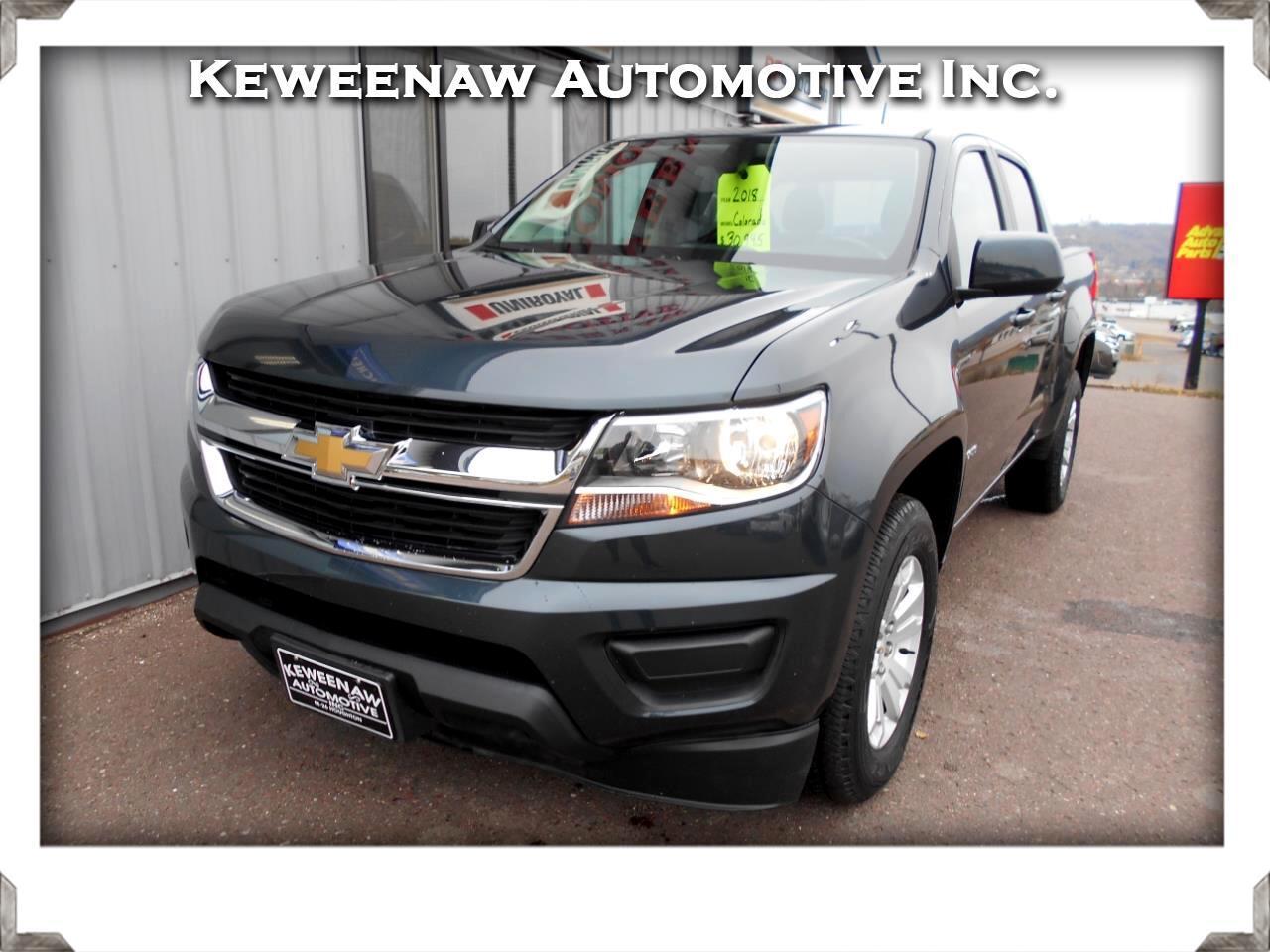 """2018 Chevrolet Colorado 4WD Crew Cab 128.3"""" LT"""
