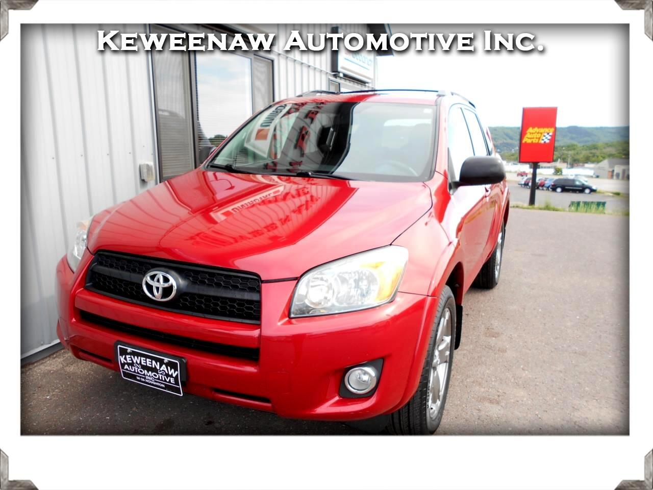 2010 Toyota RAV4 4WD 4dr 4-cyl 4-Spd AT Sport (Natl)