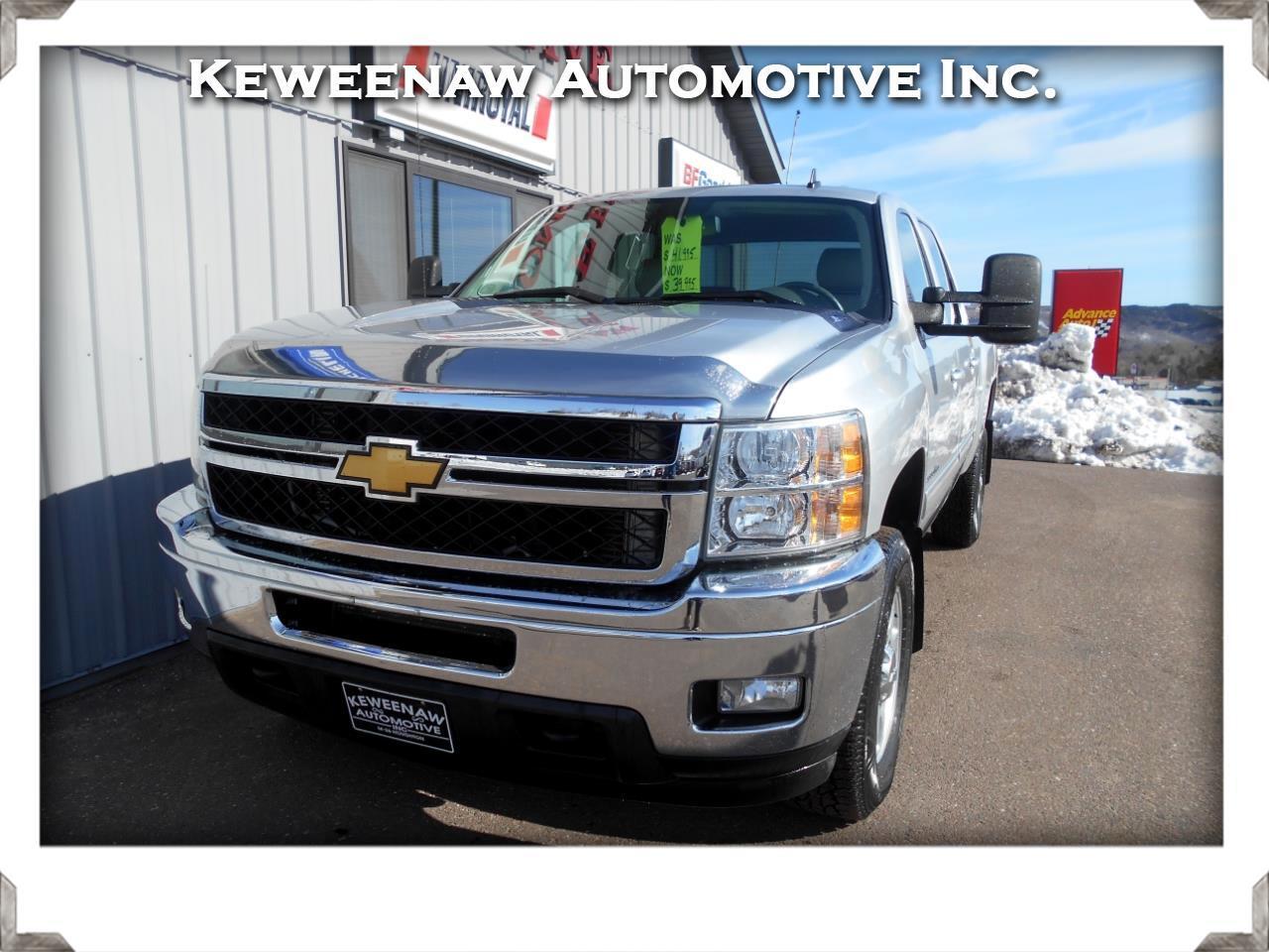 """2013 Chevrolet Silverado 2500HD 4WD Crew Cab 153.7"""" LTZ"""