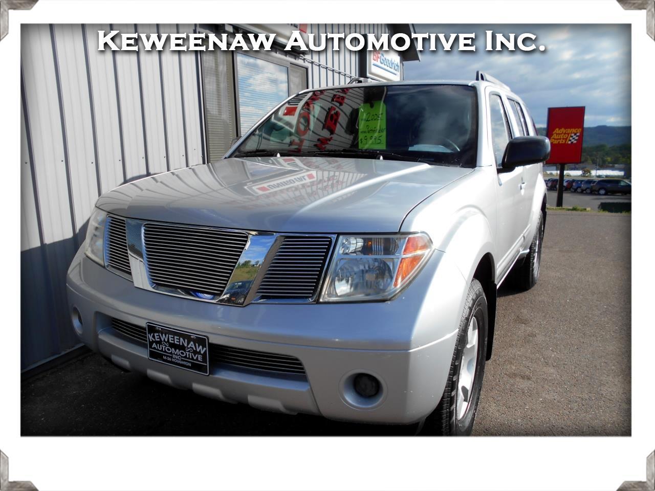 2005 Nissan Pathfinder XE 4WD