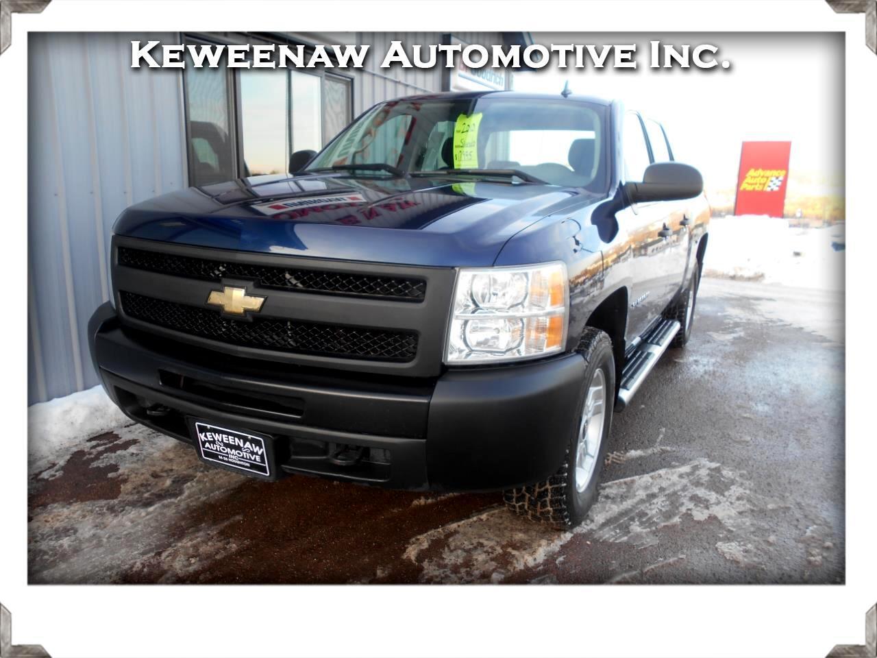 "2010 Chevrolet Silverado 1500 4WD Crew Cab 143.5"" Work Truck"
