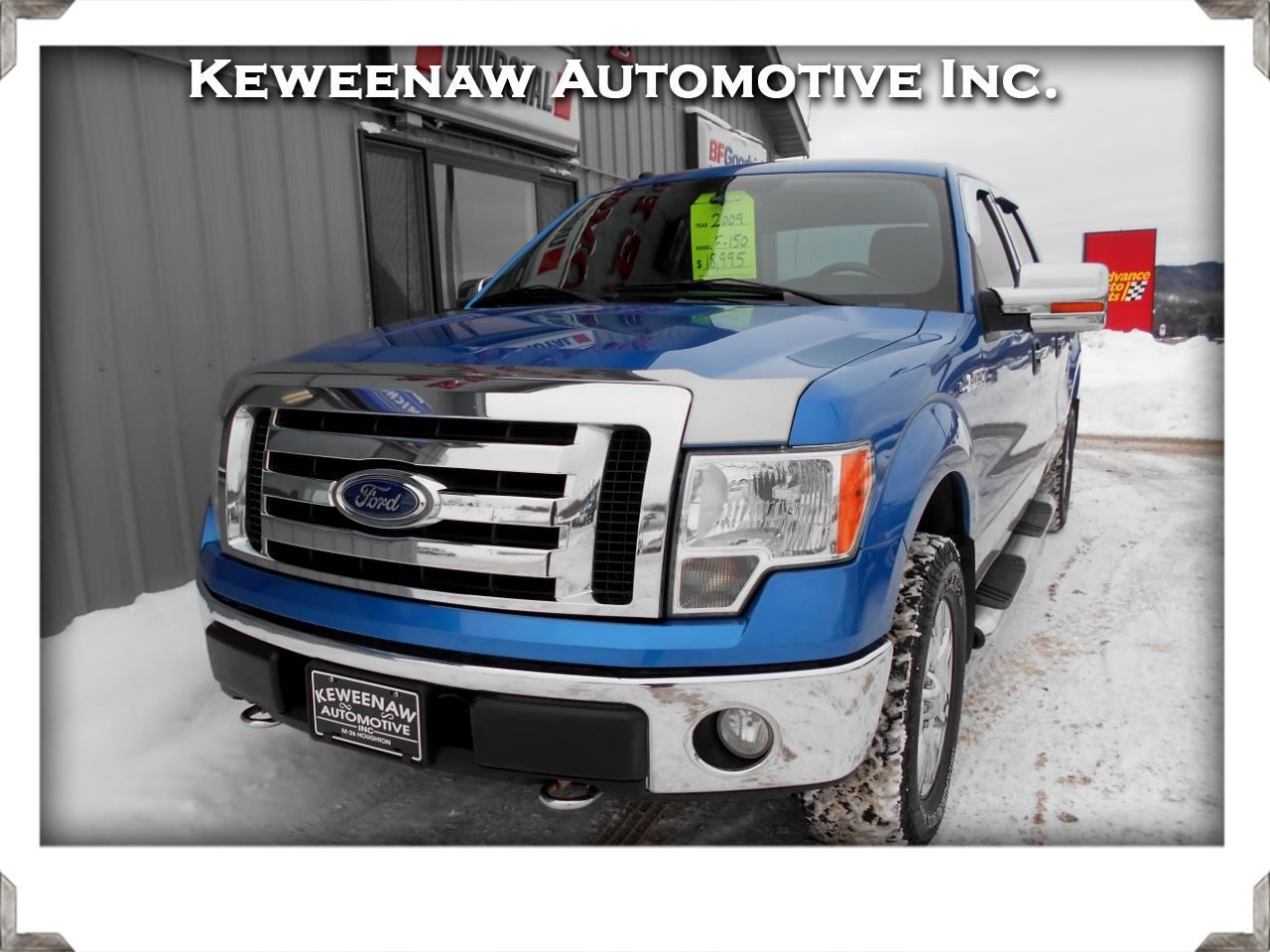 "2009 Ford F-150 4WD SuperCrew 145"" XLT"