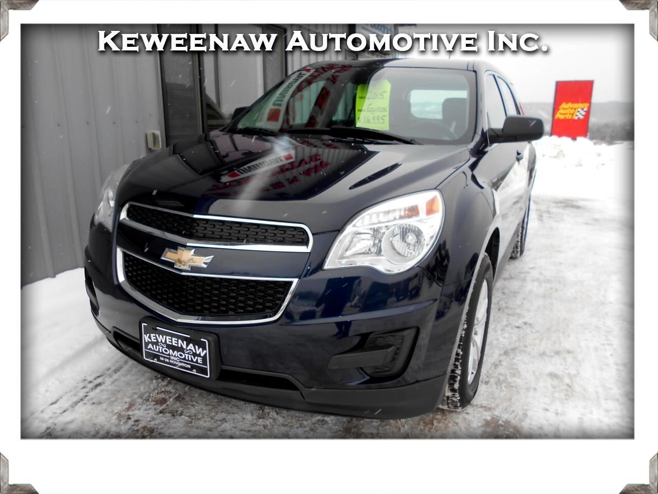 2015 Chevrolet Equinox AWD 4dr LS