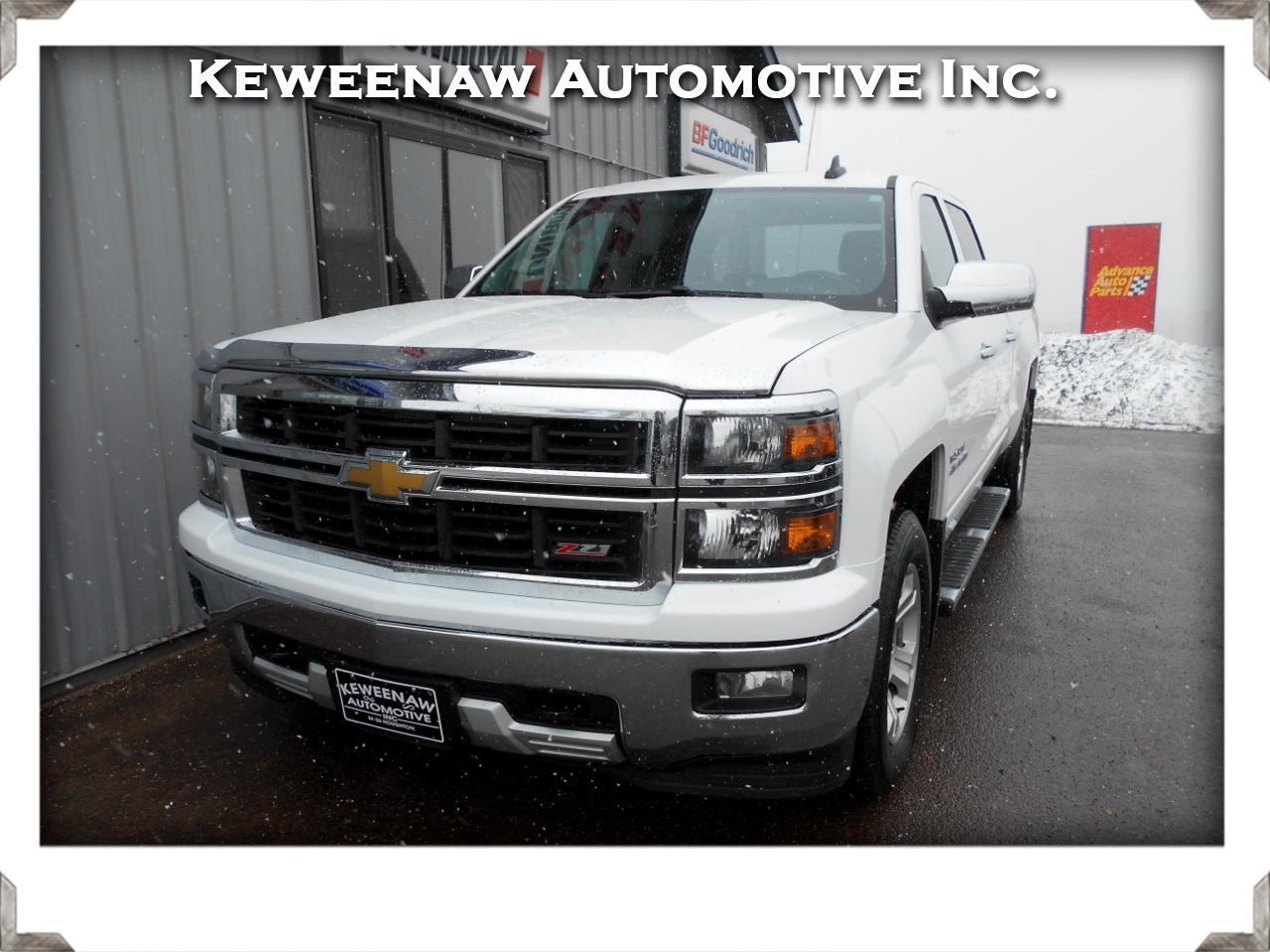 """2015 Chevrolet Silverado 1500 4WD Crew Cab 143.5"""" LT w/1LT"""