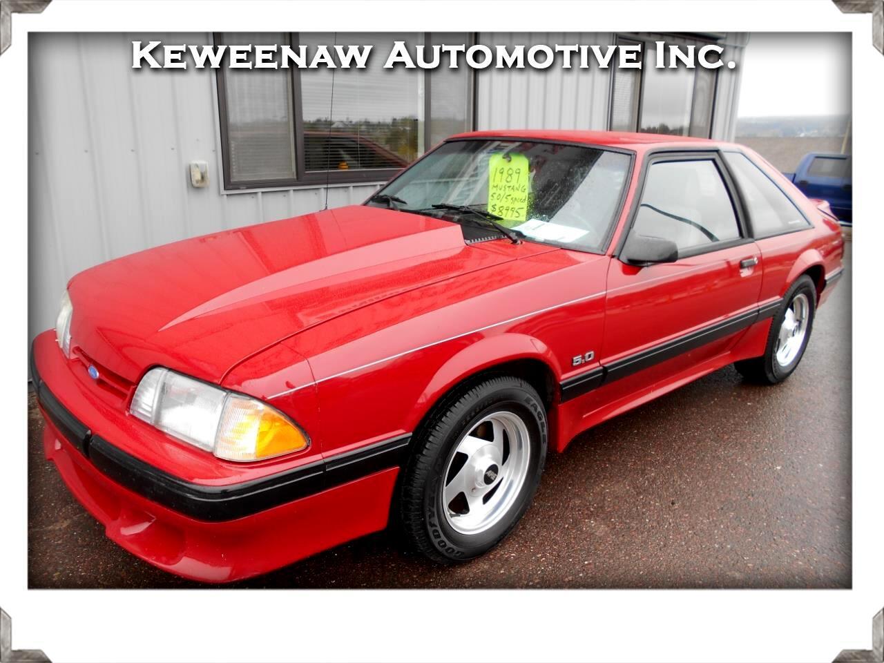 1989 Ford Mustang 2dr Hatchback LX Sport 5.0L