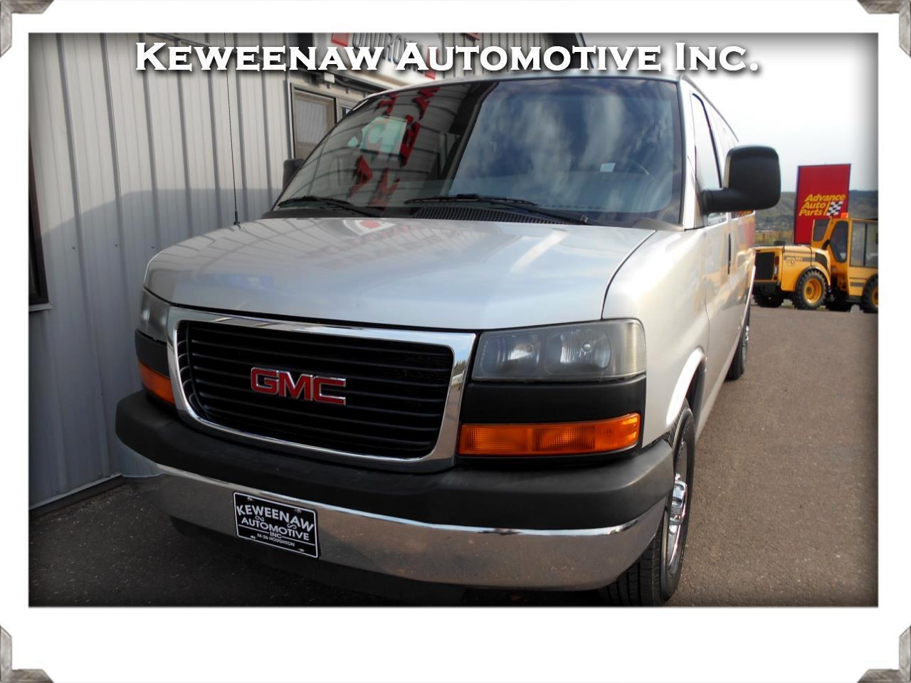 2010 GMC Savana Passenger RWD 3500 155
