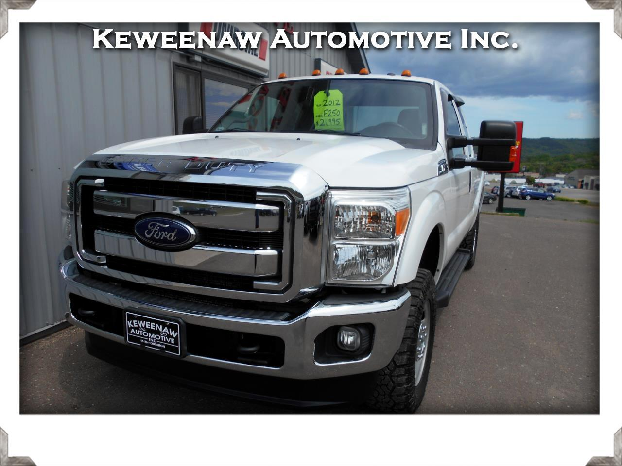 2012 Ford Super Duty F-250 SRW XLT 4WD