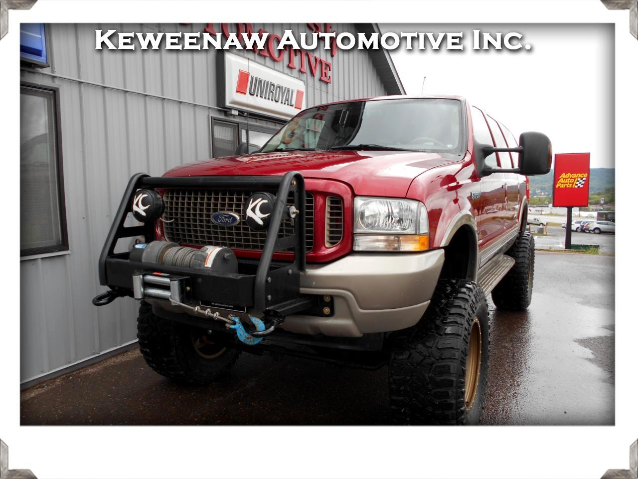 "2003 Ford Excursion 137"" WB 6.8L Eddie Bauer 4WD"