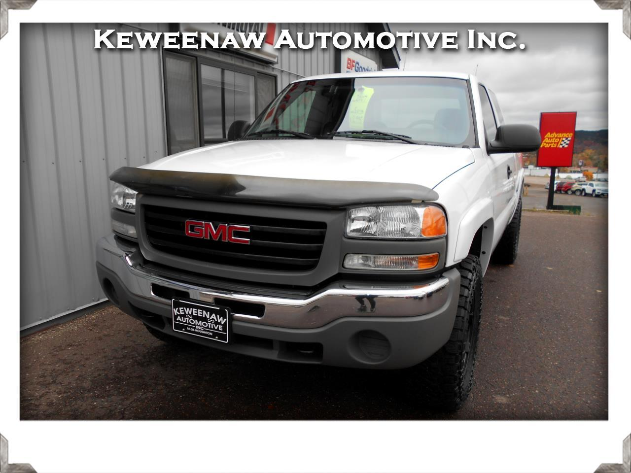 "2007 GMC Sierra 1500 Classic 4WD Ext Cab 143.5"" Work Truck"