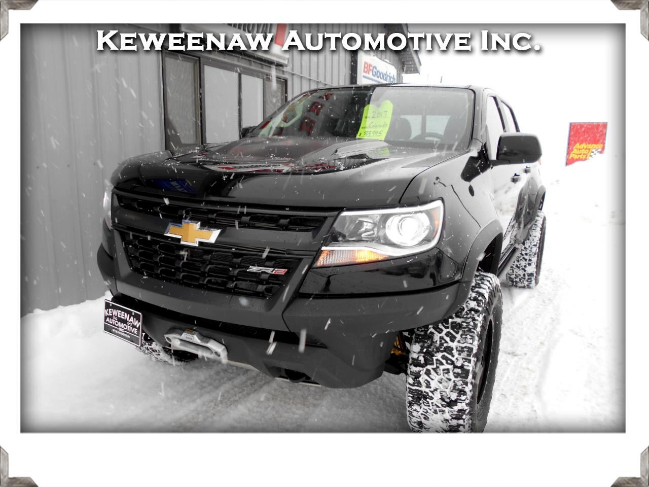 """Chevrolet Colorado 4WD Crew Cab 128.3"""" ZR2 2017"""