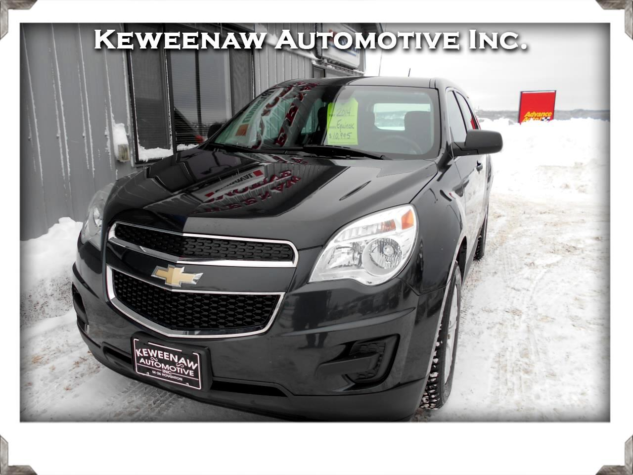 Chevrolet Equinox FWD 4dr LS 2014