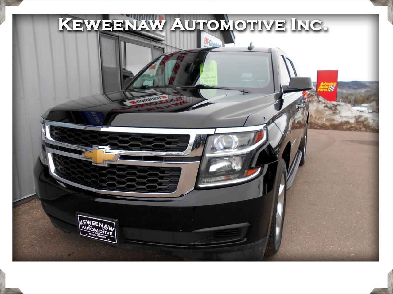 Chevrolet Suburban 4WD 4dr 1500 LT 2016