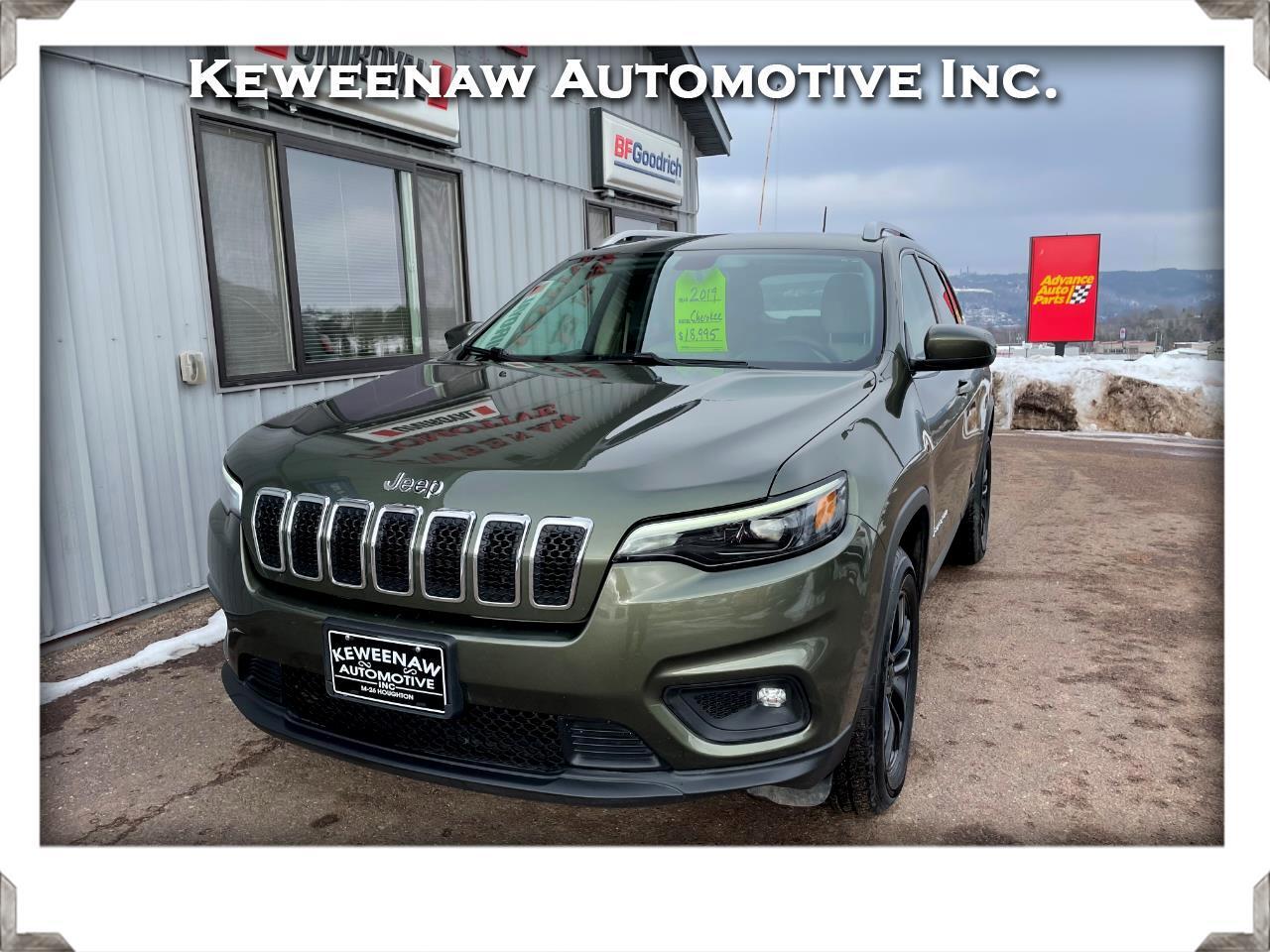 Jeep Cherokee Latitude 4x4 2019