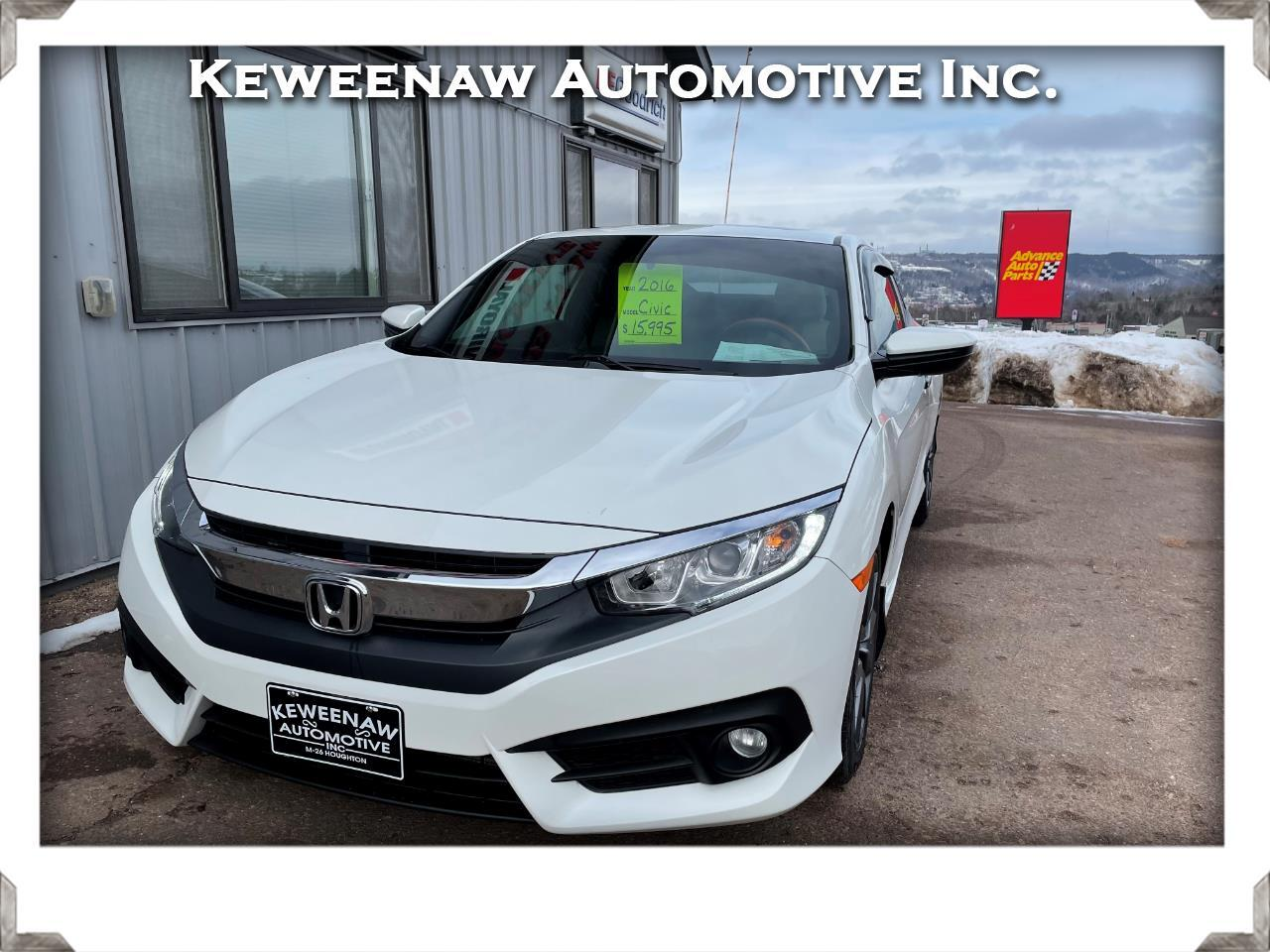Honda Civic Coupe 2dr CVT EX-T 2016