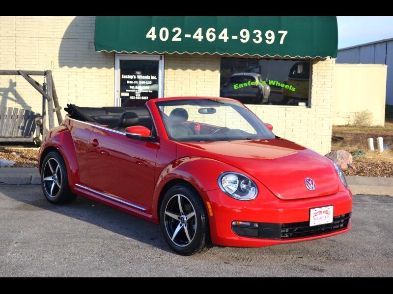 Volkswagen Beetle 2.5L Convertible 2014