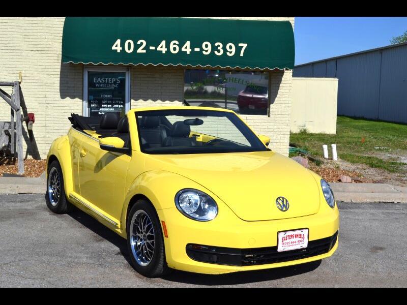 Volkswagen Beetle 1.8T PZEV Convertible 2015