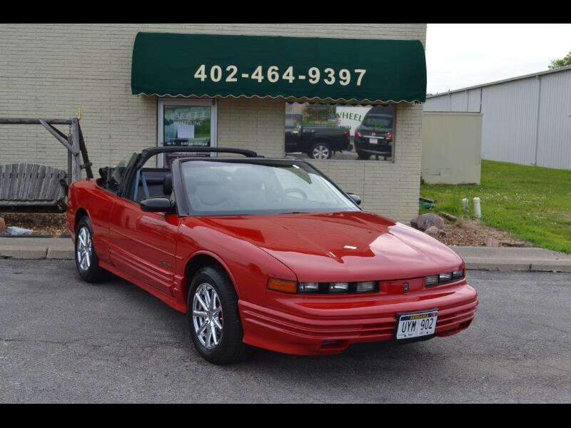 Oldsmobile Cutlass Supreme Convertible 1992