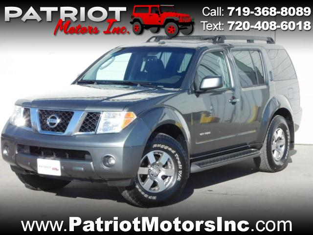 2006 Nissan Pathfinder SE Off Road 4WD