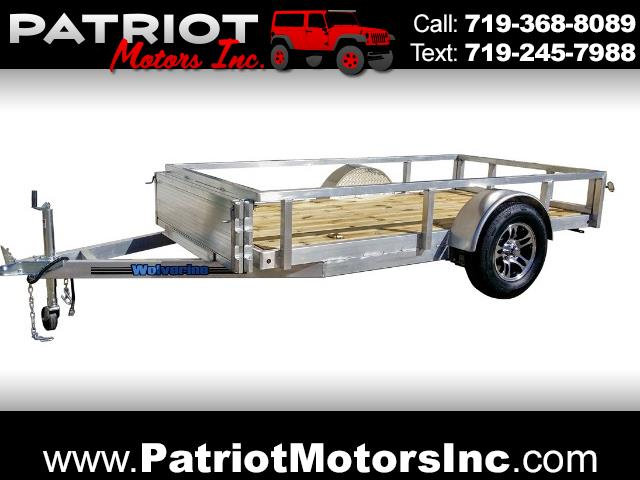 2018 Wolverine Trailers Utility Trailer 5x10