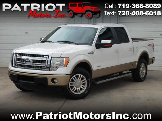 2011 Ford F-150 King-Ranch SuperCrew 5.5-ft. Bed 4WD