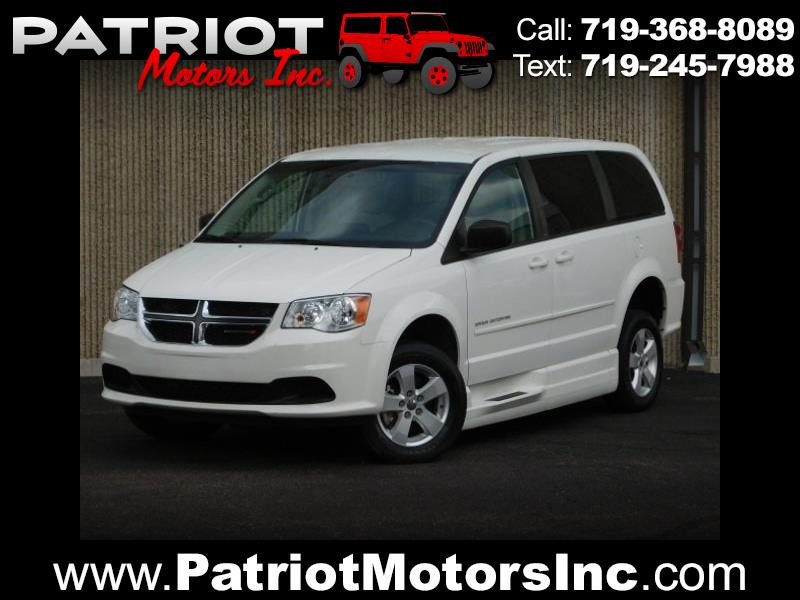 2013 Dodge Grand Caravan Handicap Van