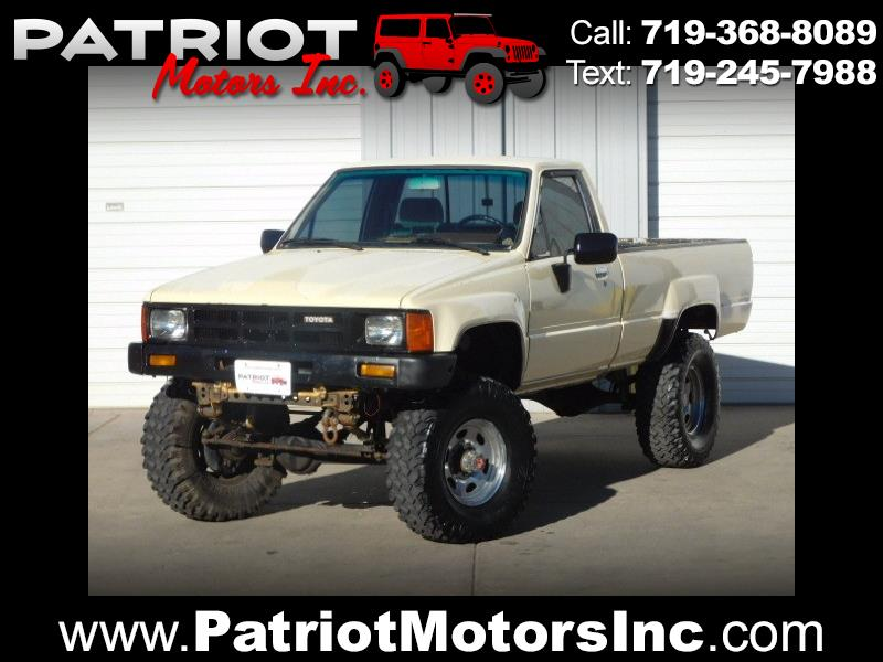 Used 1985 Toyota Pickup For Sale In Colorado Springs Co 80907
