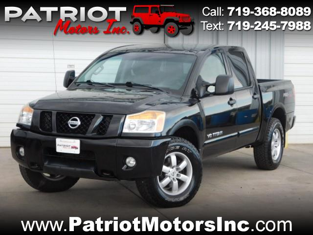 Used 2012 Nissan Titan For Sale In Colorado Springs Co 80907