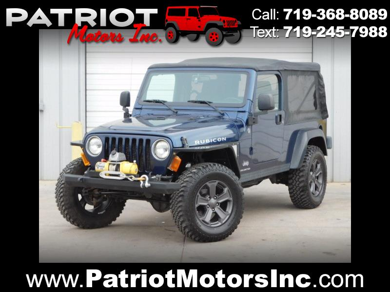 2005 Jeep Wrangler Rubicon