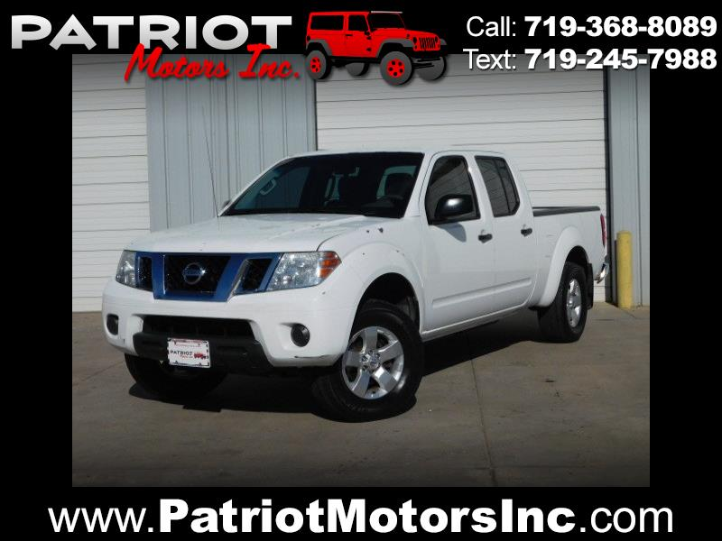 2012 Nissan Frontier SV Crew Cab 5AT 4WD