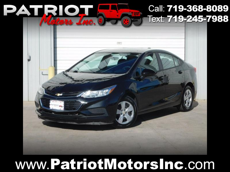 2017 Chevrolet Cruze LS Manual