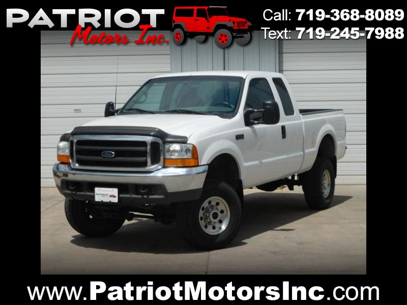 2000 Ford F-250 SD XLT SuperCab Short Bed 4WD